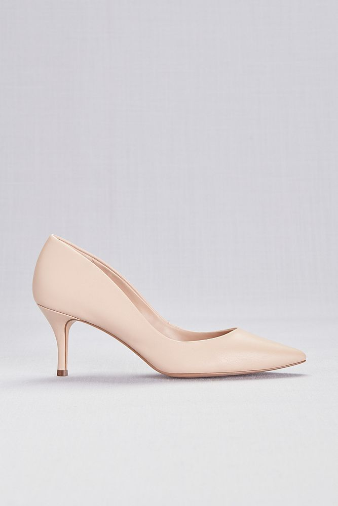 5c38f7c43a5 Mid-Heel Pointy Toe Pumps Style ANGELICA, Nude, 10 in 2019 ...