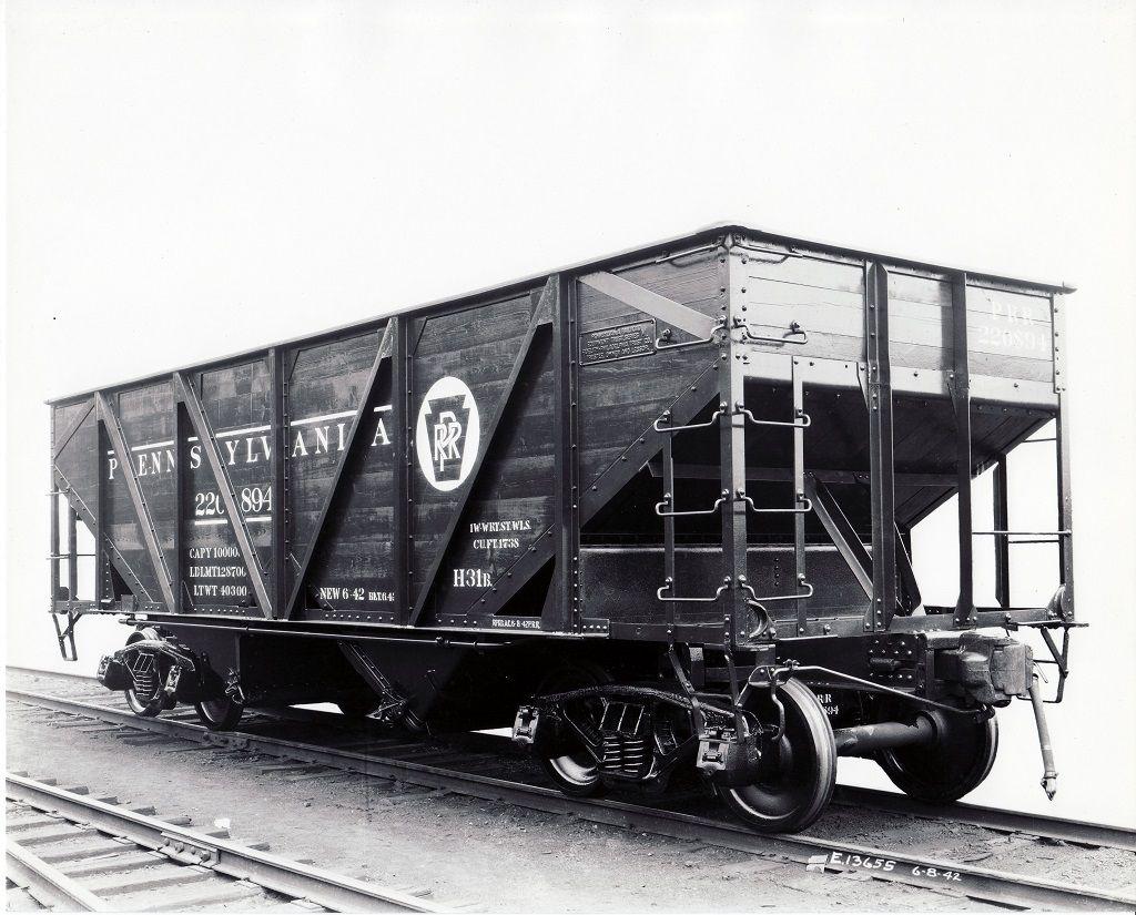 PRR PRR H31B Hopper Car No. 220894 Pennsylvania