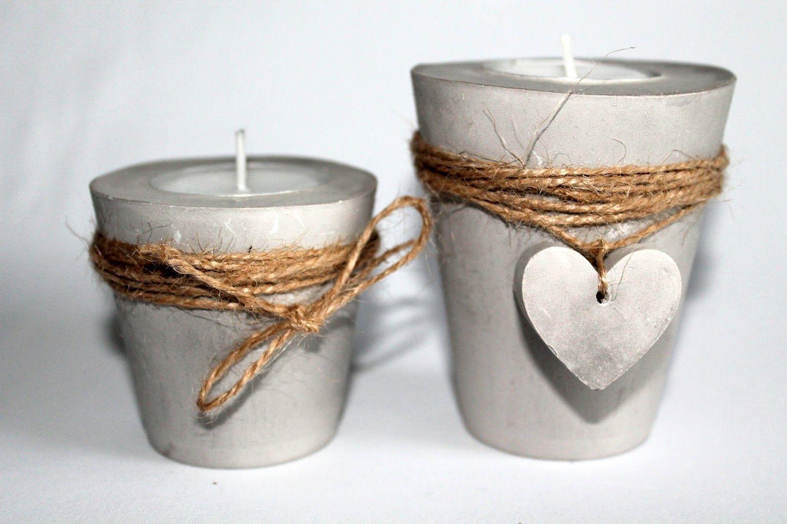 Diy Gips Beton Teelichthalter Mit Einem Herz Einfach Selber Machen Selber Machen Mit Beton Teelichthalter Basteln Mit Beton