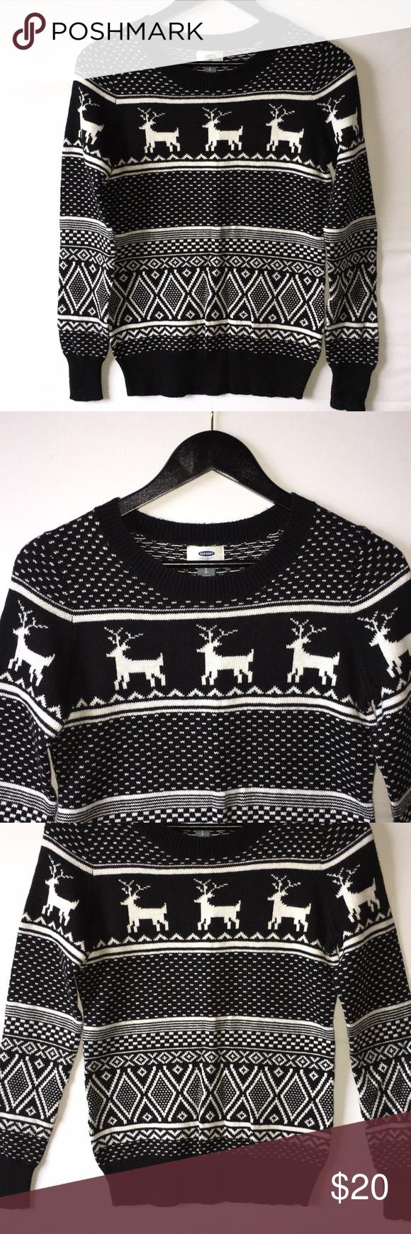Womens Old Navy Holiday Christmas Sweater My Posh Picks