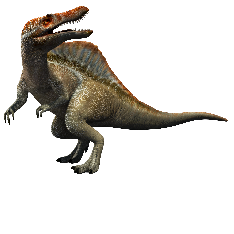 Spinosaurus/JW A Spinosaurus, Jurassic world dinosaurs