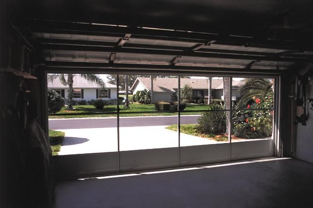Garage door screen panels eze breeze do it yourself porch garage door screen panels eze breeze do it yourself porch enclosures solutioingenieria Image collections