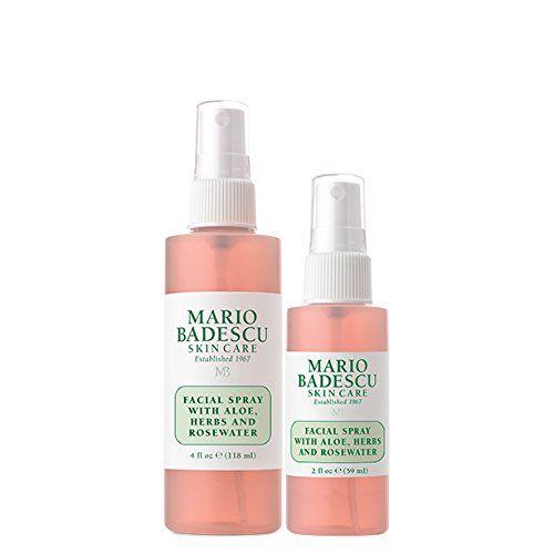 Mario Badescu Facial Spray With Aloe Herbs Rosewater Mario
