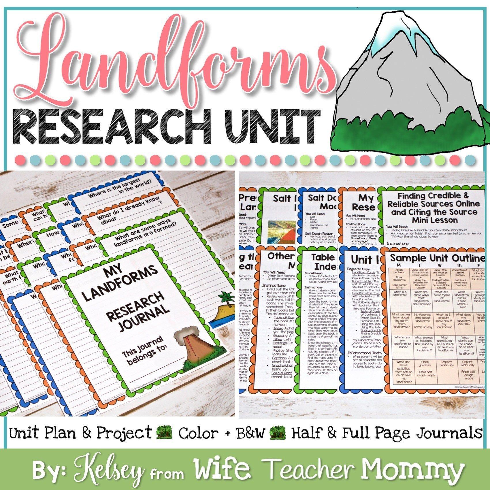 Landforms Research Unit