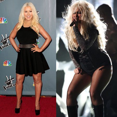 Get here how Christina Aguilera Lost 49 Pounds Using an App.