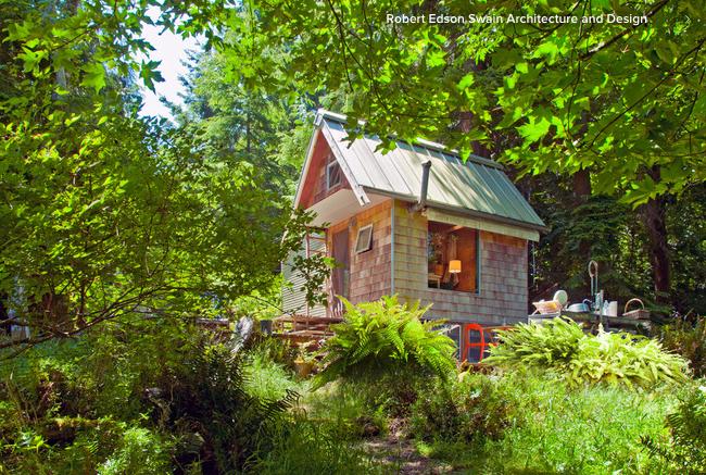 Micro Cabin On Decatur Island In Washington State S San