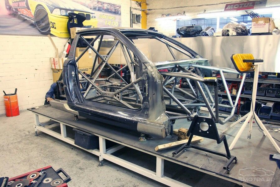 Bmw Full Race Chassis Chassis Fabrication Race Car Builds Tube Chassis