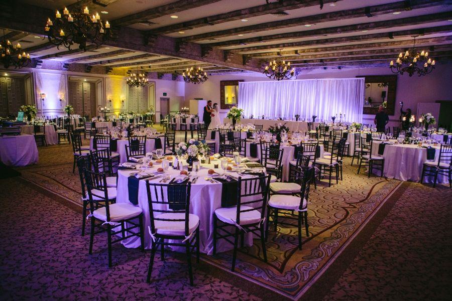 Clic Purple Black And White Rancho Bernardo Inn Wedding