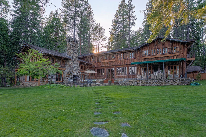 house lakefront cabin rentals south cabins luxury buckingham teak vacation tahoe lake