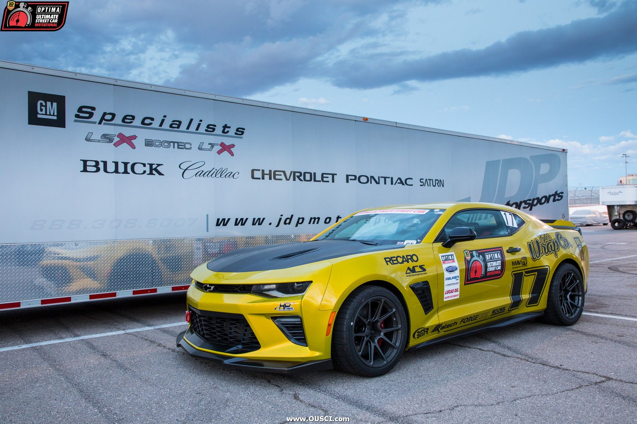 Chad Langley S 2017 Chevy Camaro At The Ousci