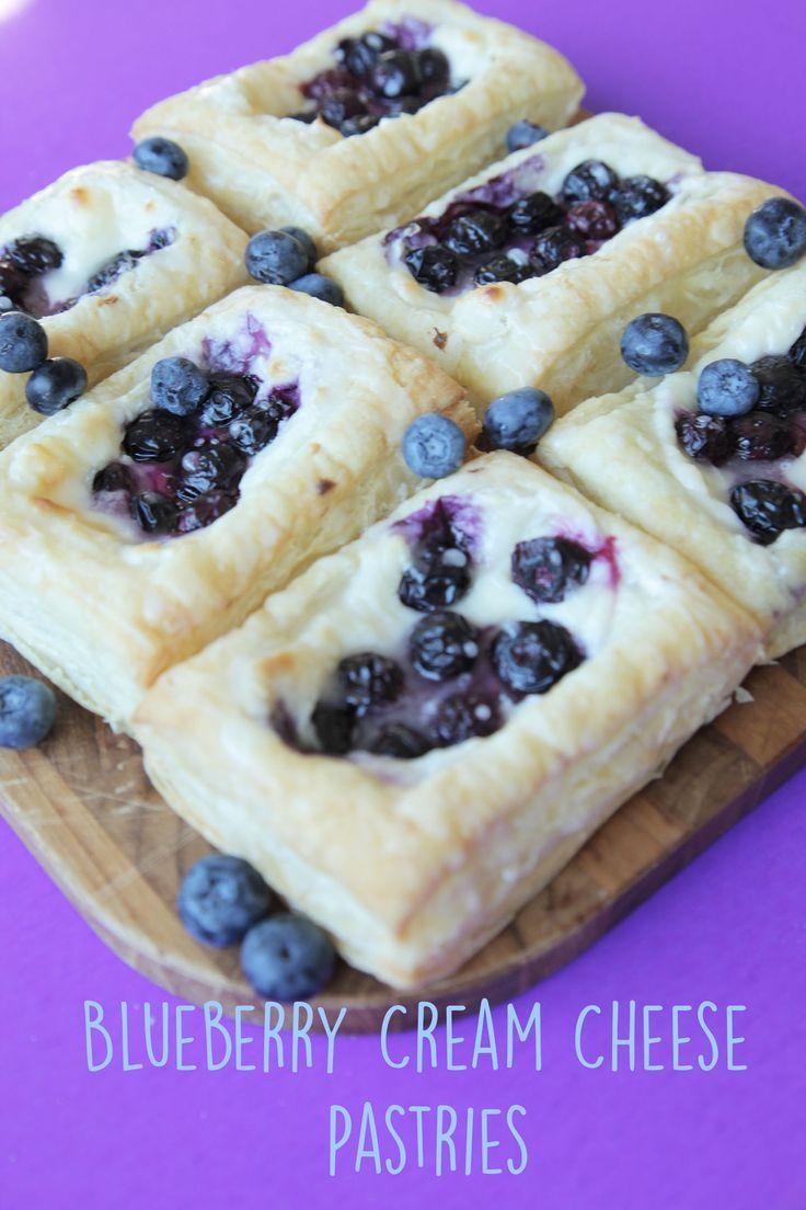 Blueberry Cream Cheese Pastry Vegan