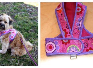 Kimono Dog Harness Free Sewing Pattern Dog Harness Tutorial Dog