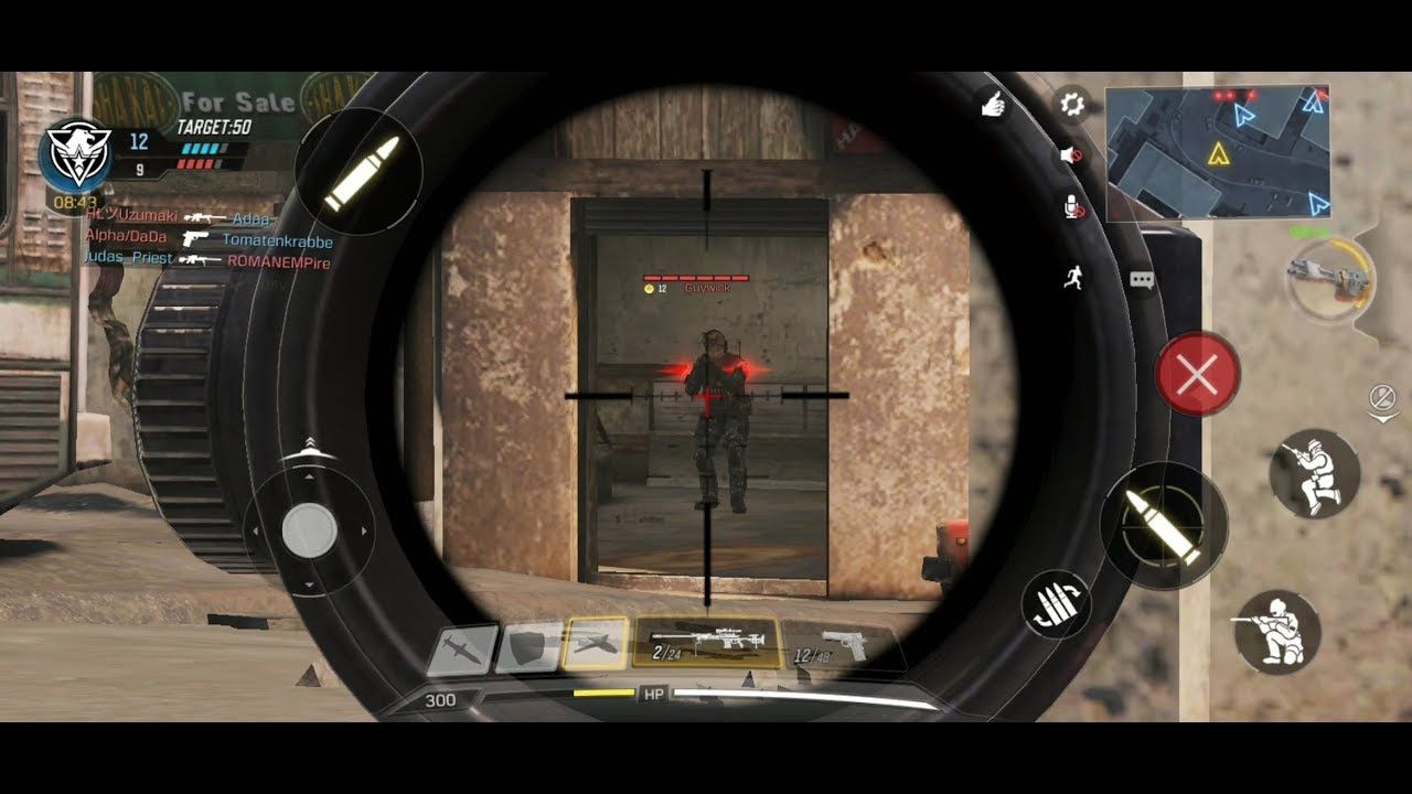 Call of Duty Mobile / Multiplayer 5v5, 50killed win ep01