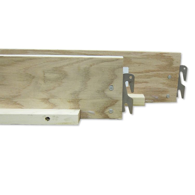 Replacement Wood Bed Rails