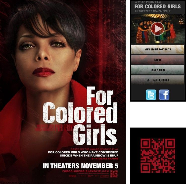 For colored girls movie poster, sexy babes chloro