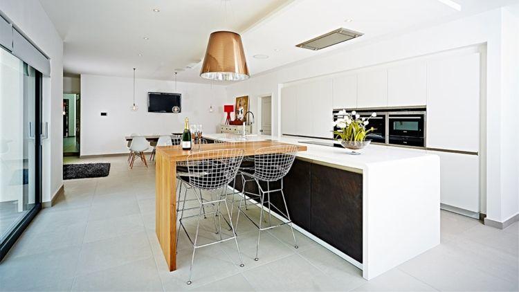 Küchen Ideen 2018 \u2013 Beispiele für offene Gestaltung Open kitchen - offene küchen beispiele