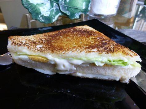 Sándwich Vegetal A La Plancha