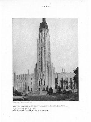 The Boston Avenue United Methodist Church. #architecture