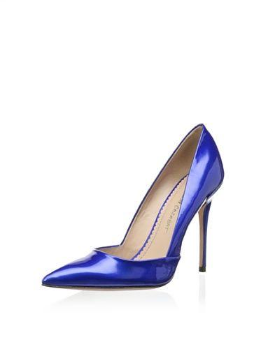 Jean Michel Cazabat Women's Emma Pump (Blue) | | (Blue) My Babies ... 953095
