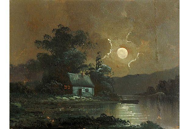 Moonlit Cabin on a Lake on OneKingsLane.com