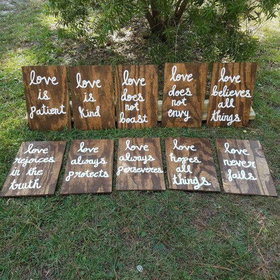 Large Custom Wood Sign Wedding Backdrop Signs Love Never Fails Wood Sign Wedding Decor Initial Signs Wedding Sign Love Never Fails