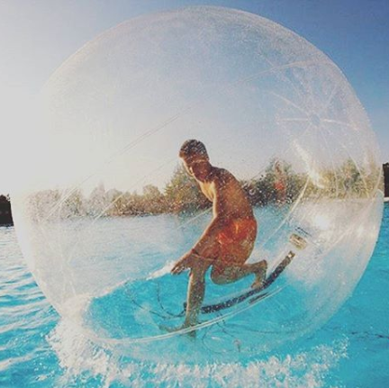 This Life Sized Human Hamster Ball Lets You Literally Walk On