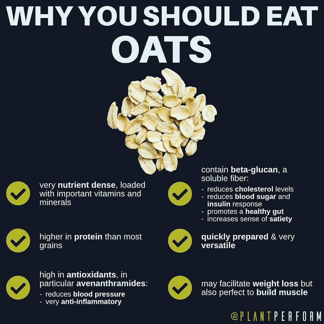 Why oats are amazing for you ⠀ ⠀  reduce the LDL and total cholesterol, which is... #fitness #fitnes...
