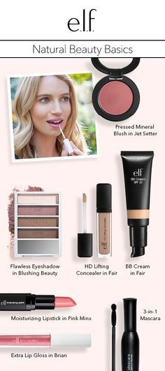Blog   meet kristen!: natural beauty basics   e.l.f. Cosmetics
