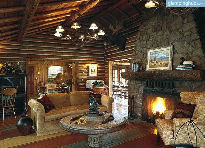 Luxury Cabin Rentals In West Yellowstone   Luxury Camping In Montana