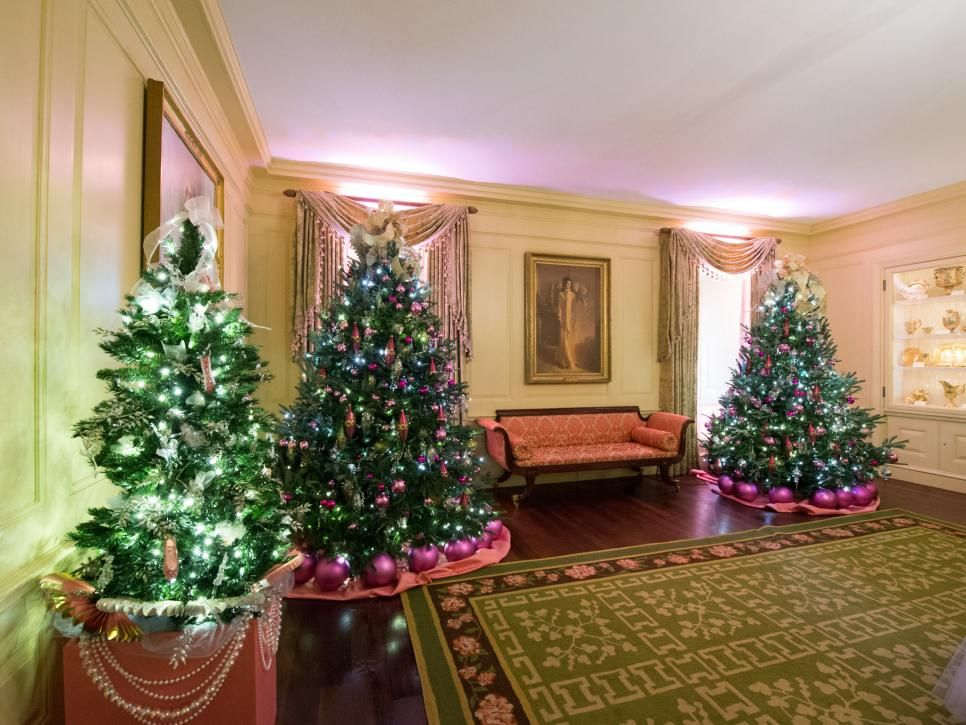 White House Christmas Tour 2016 Part I Christmas Decorations Christmas Projects Christmas 2016