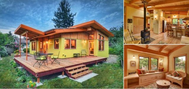 Beautiful Tiny House 800 sq ft