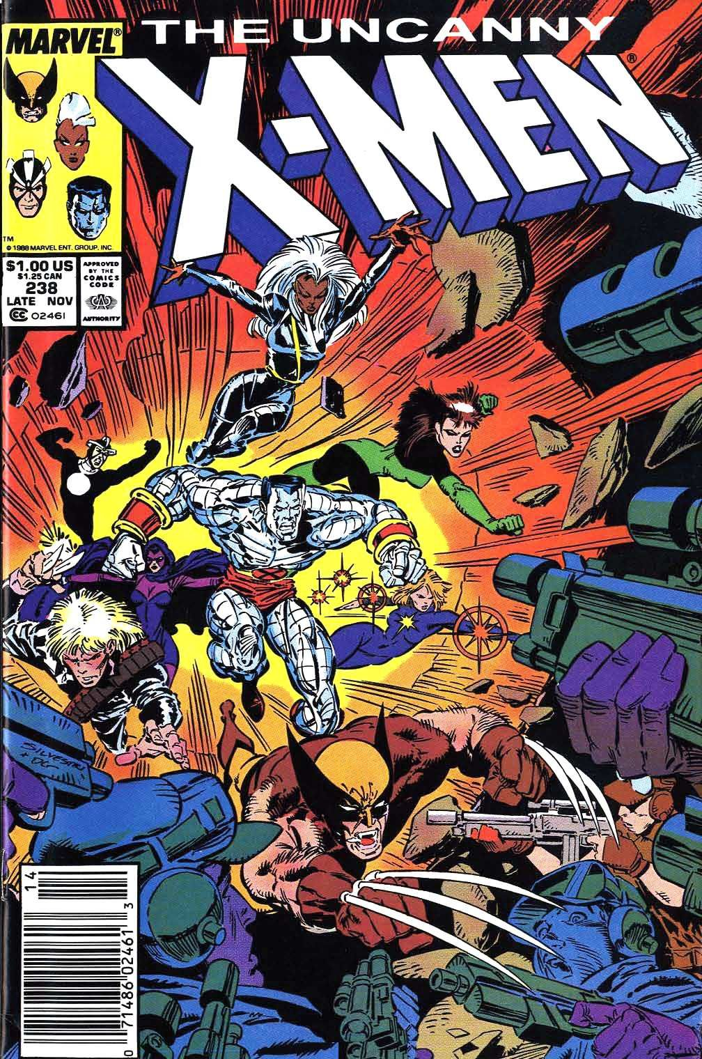 Cover of Uncanny X-Men #238