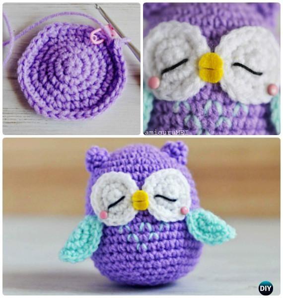 Little Amimigurumi Crochet Owl Free Pattern Crochet Pinterest