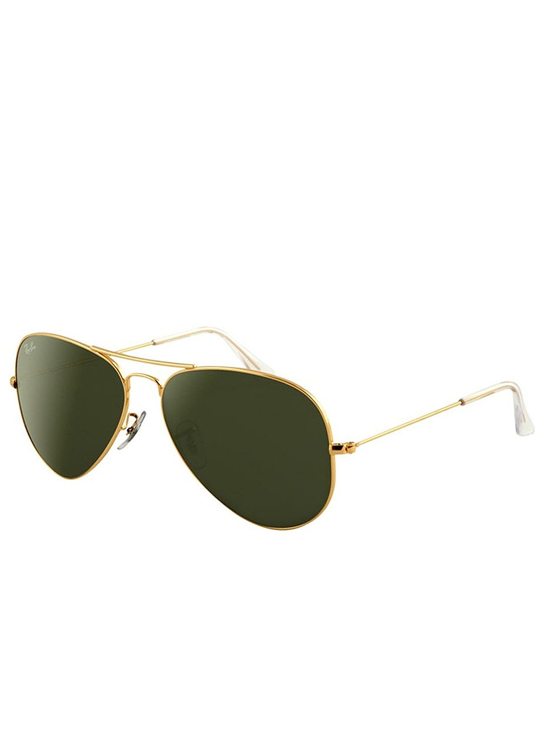ray ban aviator 3025 gold frame green lens