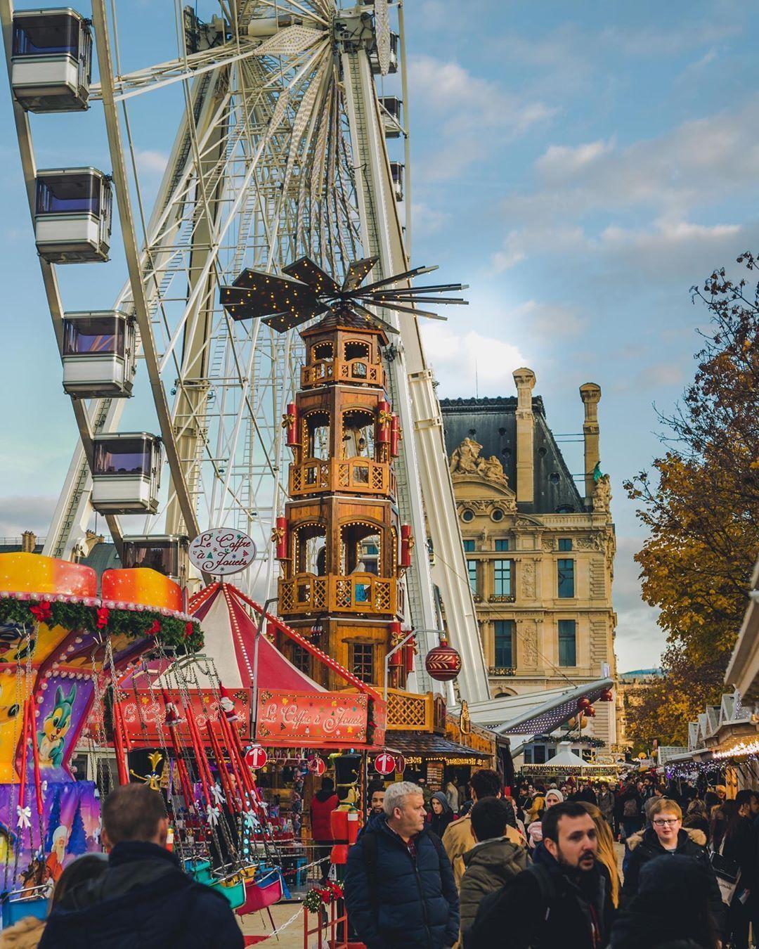 Paris Secret On Instagram Le Marche De Noel Du Jardin Des