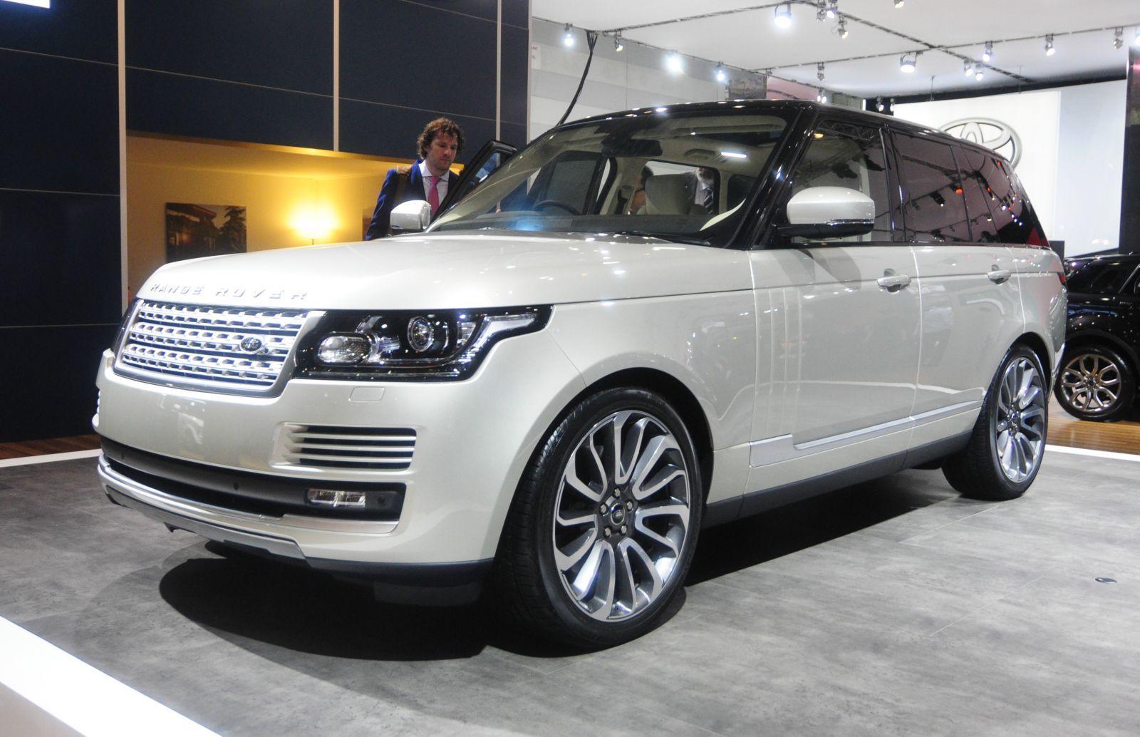 2013 Range Rover Unveiled At Australian International