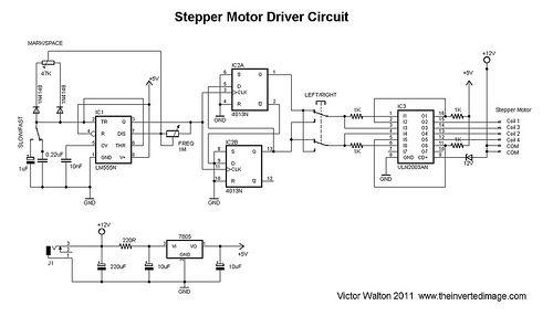 DIY video dolly stepper motor driver