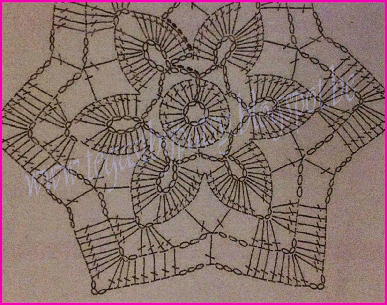 patroon+ster.jpg (1600×1262) | Вязание квадраты | Pinterest | Kreis ...