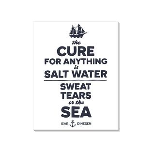Salt Water Cure-All Canvas Print