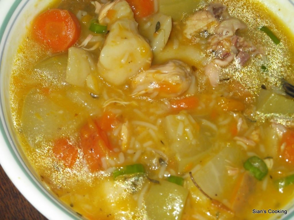 chicken soup jamaican  jamaican recipes caribbean