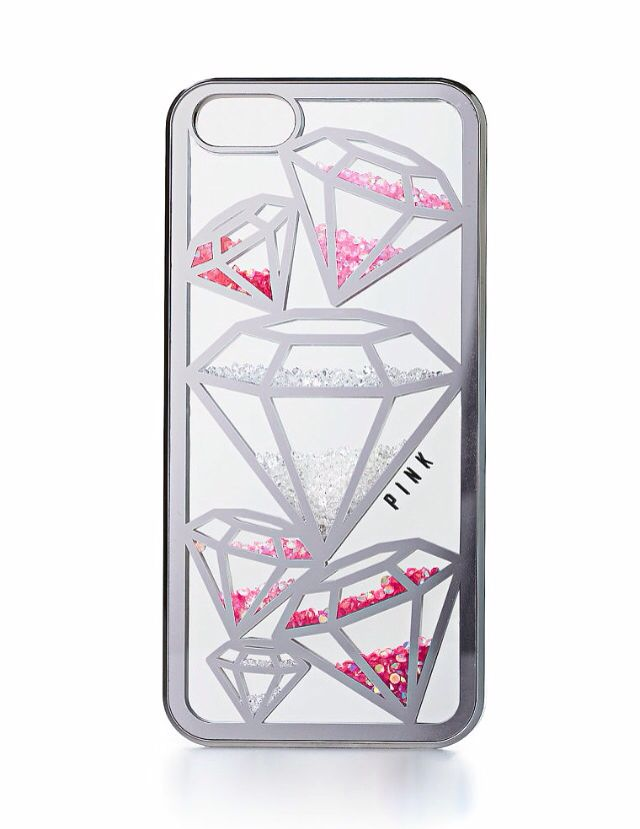 best website 6f0cf 17be6 Victoria's Secret Pink jeweled mirror iPhone case ...