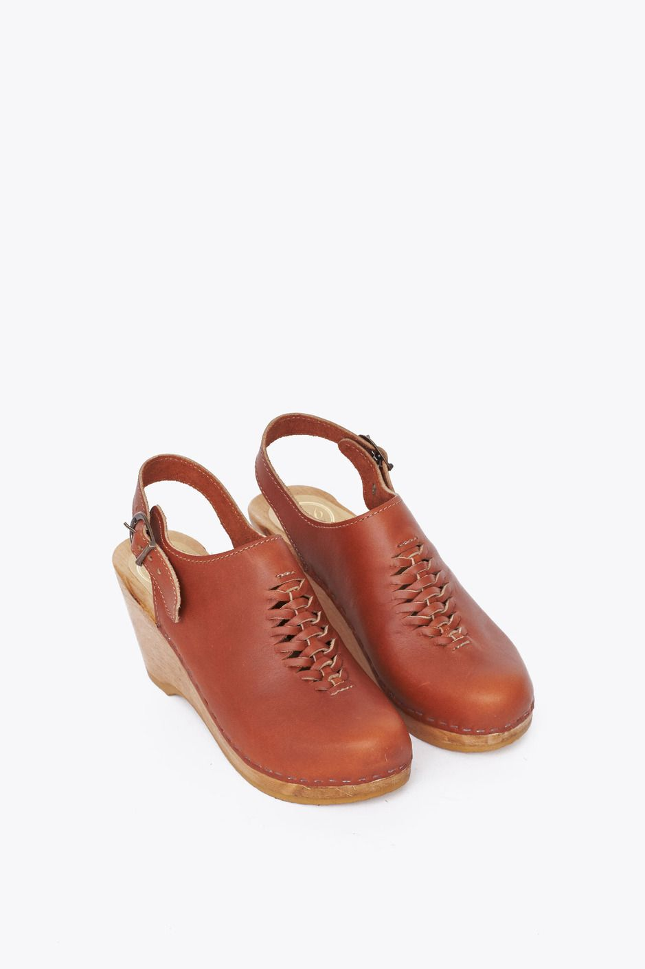 websites online cheap sale professional No.6 Leather Slingback Wedges cheap collections prices cheap price uyHMsjx