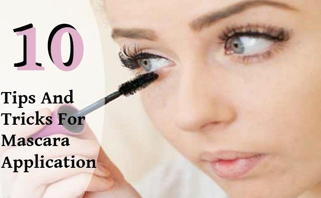10 Tips And Tricks For Mascara Application