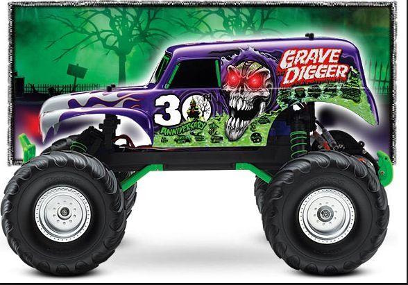 Pin By Grave Digger 1 Rasmussen On Traxxas Monster Trucks