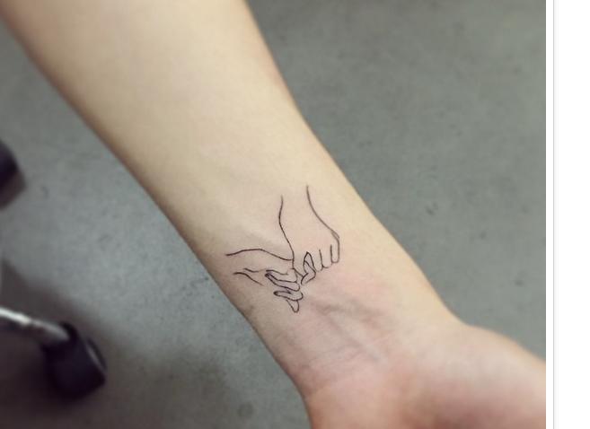 Daily Art Love Temporary Tattoo