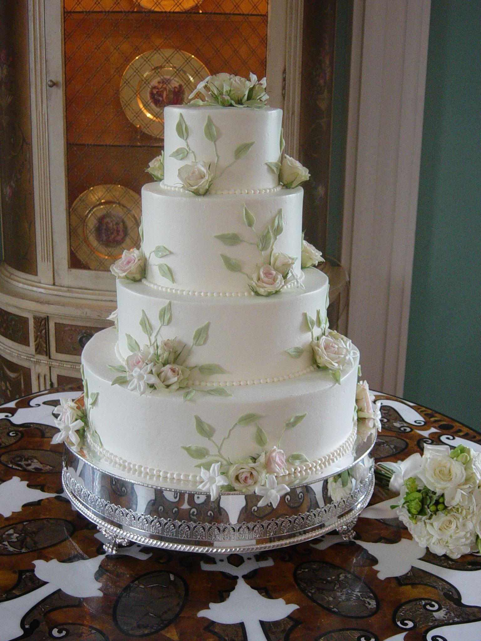Wedding Cake   Charleston, SC @ William Aiken House