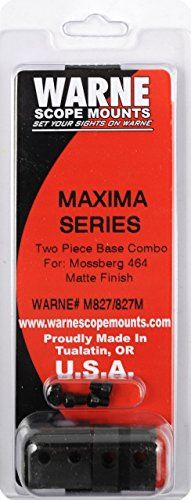Warne Scope Mounts M827827M Mossberg 464 Scope Rings Matte >>> Click image to review more details.