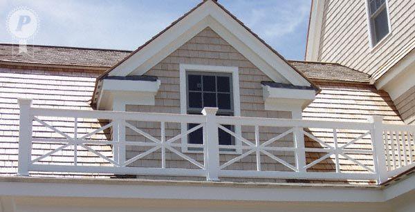 starburst pattern for deck rail | Choosing a railing for a ...
