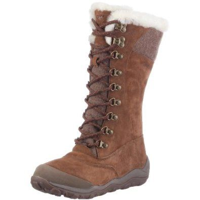 Cat Footwear Womens Caribou Cola Fur Trimmed Boot