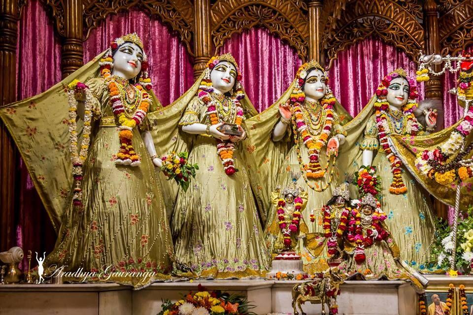ISKCON Mayapur Deity Darshan 03 Jan 2019 (6)   Most beautiful